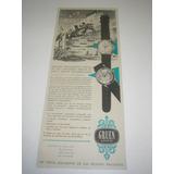 ( L - 290/ Ge ) Propaganda Antiga Relógio Gruen Geneve