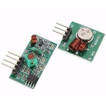 Módulo Rf Transmissor Receptor 433mhz Rx Tx(pronta Entrega)