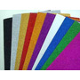 5 Placas De Eva Glitter - Artesanato - 40x48cm