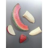 Imanes Adornos Para Neveras Frutas