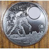 Moneda Gigante Hombre Lobo