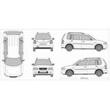 Compresor, Evaporador, Soplador Y Panel De Ac Mazda Demio