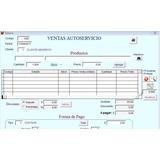 Sistema Software Para Comercio, Autoservicio, Almacén, Venta