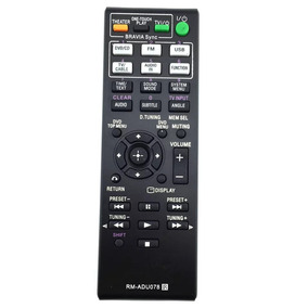 Controle Home Sony Home Theater Rm-adu078