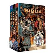 Bíblia Kingstone Box Mangá - A Bíblia Completa Em Quadrinhos