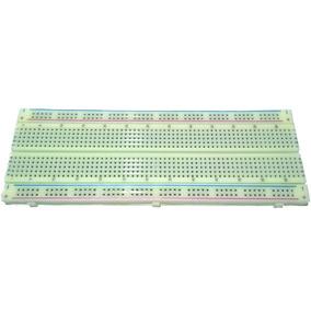 Protoboard 830 Furos ! Arduino, Pic, Eletrônica, Componente