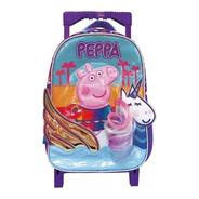 Mochila Peppa Pig Unicornio Escolar Carro Carrito 12  Lic Of