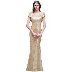 Vestido De Lentejuelas Wyy344
