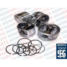 Jogo Pistão Com Anéis Gm Monza Hatch 1.8 Alc. 83/86