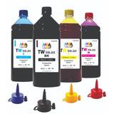 4 Litros De Tinta P/ Multifuncional Epson L575 Tw Ink-jet