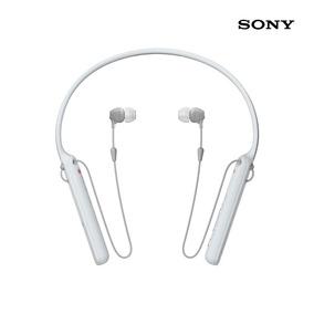 Sony Audífonos Bluetooth Wi-c400 Blancos