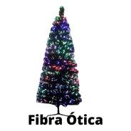 Árvore De Natal Em Fibra Ótica 210cm 545 Galhos Luxo Led