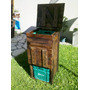 Compostera Lombrices Madera Reciclada Pallet + 200 Lombices
