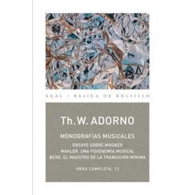 O.c. Adorno 13 Monografias Musicales