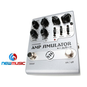 Pedal Guitarra Simulador Amplificador Nig As1
