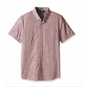 Camisa Manga Corta Volcom Talla M Envio Gratis (a0411601)