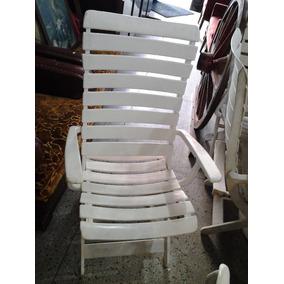Cadeira De Plastico Reclinável Para Piscina