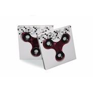 Fidget Hand Spinner Anti Estresse Rolamento Metalizado Rosa