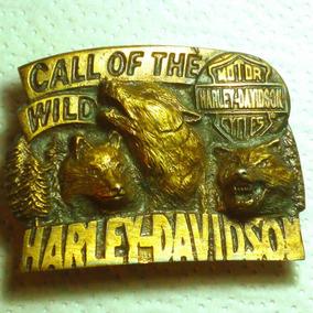 Hebilla Harley Davidson U.s.a. Antiguas Metalicas,8 Cm $c/u