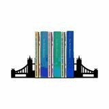 Bibliocanto Aparador De Livro Dvd Cds Ponte De Londres Preto