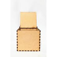 Caja Con Tapa 30x30x30 - Mdf / Fibrofacil