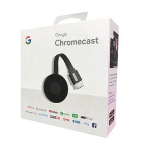 Google Chromecast 2*preto* Hdmi 1080p Frete Gratis Com Nf