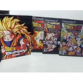 Ps2 Box Dbz Budokai Tenkaichi Trilogy + Frete Grátis (cr)