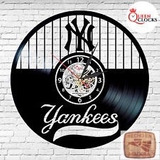 Reloj Corte Laser 0784 Béisbol Yankees Hem