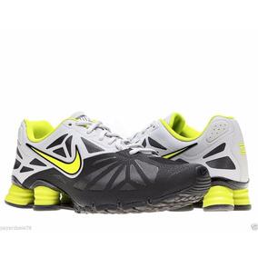 Tênis Nike Shox Turbo 14 631760-001 Preto/limão