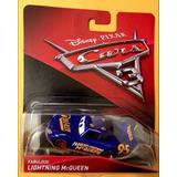 Fabuloso Rayo Mcqueen Azul Disney Pixar Cars 3 Envió Incluid