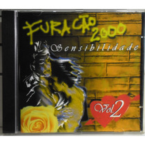 Cd Furacão 2000 Sensibilidade Vol 2 Funk Black Romântico