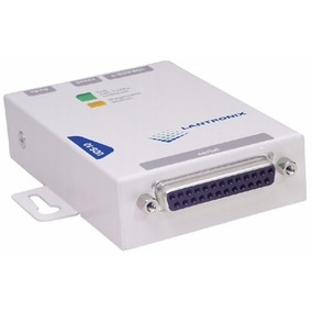 Convertidor Lantronix Uds-10 Db25 Rj45 Port Serial Ethernet