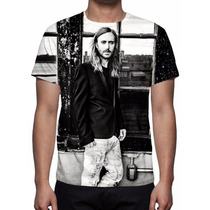 Camisa, Camiseta David Guetta - Listen - Estampa Total