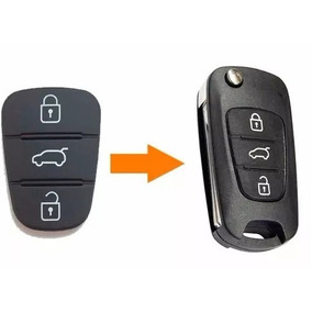 Capa Borracha Chave Hyundai I30 Ix35 Azera Kia Cerato Soul5q