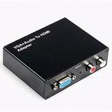 Caja Convertidor Vga+audio A Hdmi