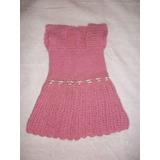 Vestido Bebe En Crochet