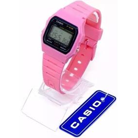 b56dbe996a1 Relogio Casio Resina Feminino Rosa - Relógios no Mercado Livre Brasil