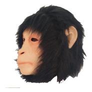 Mascara Latex Mono Gorilla Simio Disfraces Adulto Halloween