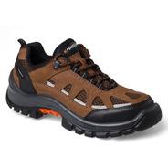 Zapatilla Zapato De Seguridad Funcional Lander 37-45 Marrón