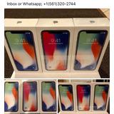 Novo Apple Iphone X 64gb, 256gb De Prata Ou Espanha Cinzento