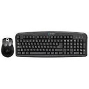Teclado / Mouse Optico Acteck Estandar Ak2-2300 Negro Ps2