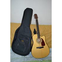 Guitarra Electroacústica Fender Dg-18ce, Con Estuche Fender