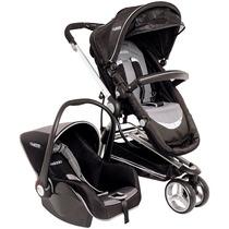 Carrinho Triciclo Compass Ii + Bebê Conforto Kiddo Inmetro