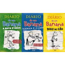 Diário De Um Banana Volumes 2, 3 E 4 - Capa Dura