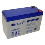 Bateria Gel Recargable Ultracell 12v 7ah 7a Alarma Ups Leds