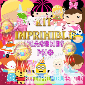 Kit Imprimible Pack Imagenes Png + Patrones Fiesta + Candy