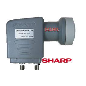 Lnb Duplo Sharp Ku Original Novo