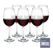 Cj 6 Taças Cristal Tritan Vinho Tinto 506ml - Schott Zwiesel