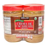 Crema De Cacahuate Orgánica Kirkland 2 Pzs De 793.8gr C/u