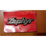 Emblemas Zephyr (metal)